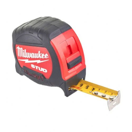 Milwaukee 48229926 STUD™ Tape Measure 7.5m/25ft (Width 27mm)